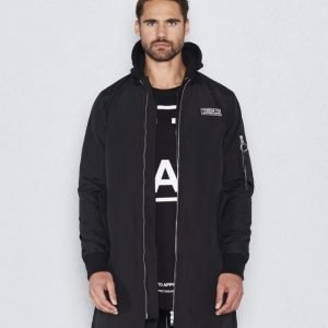 Things To Appreciate TTA Extended Bomber Jacket Black