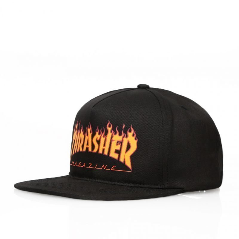 Thrasher Flame Logo Structured -lippis