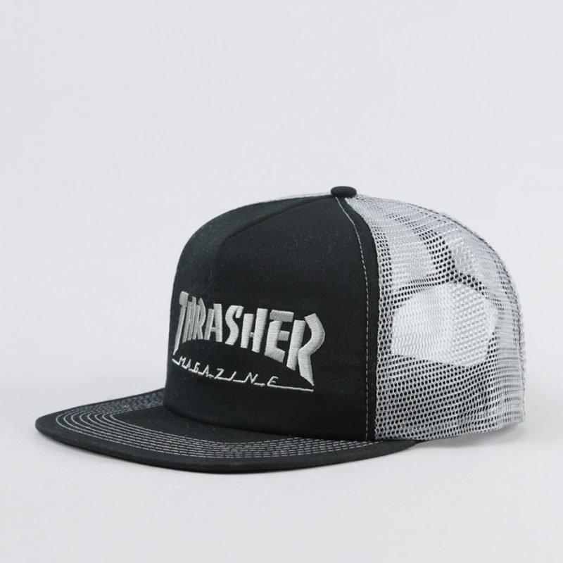 Thrasher Logo Mesh -trucker lippis