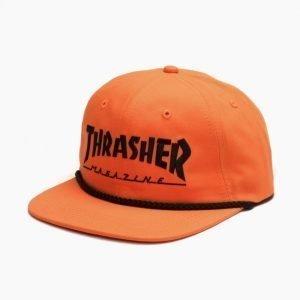 Thrasher Logo Rope Snapback