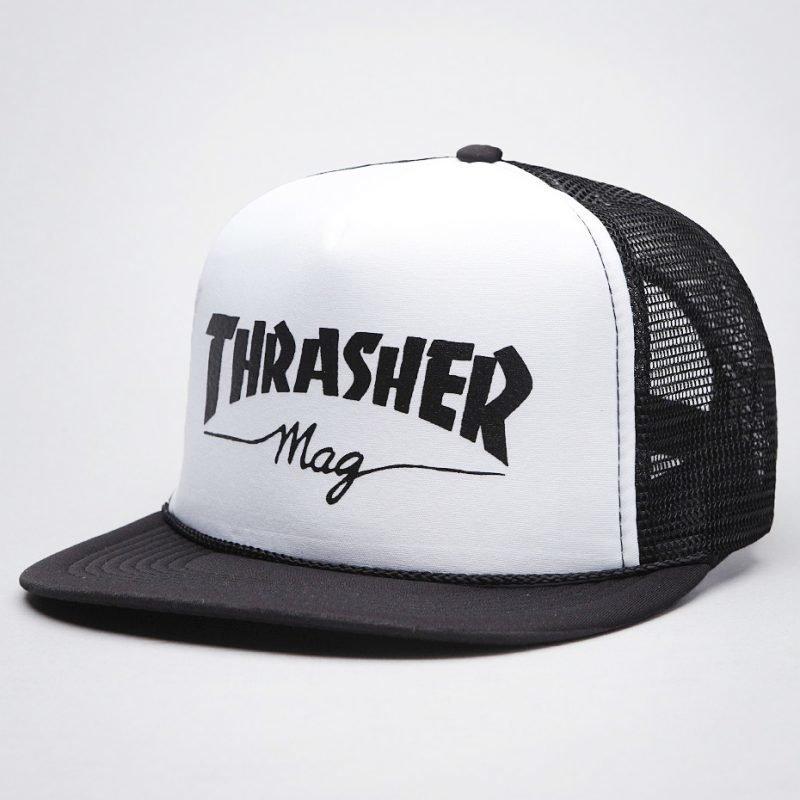 Thrasher Mag Logo Mesh -lippis