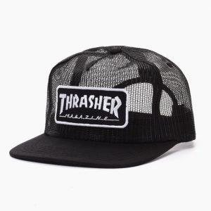 Thrasher Magazine Logo Mesh Cap