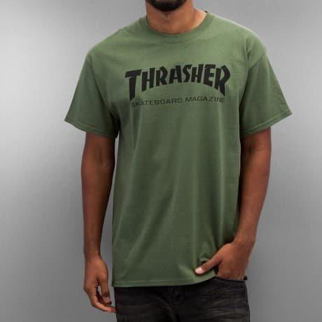 Thrasher T-paita Vihreä