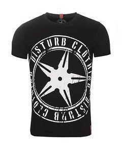 Throwing Star Tee Black/White