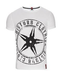 Throwing Star Tee White/Black