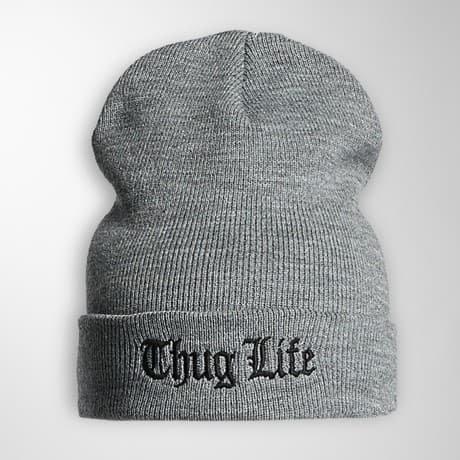 Thug Life Basic Pipo Harmaa