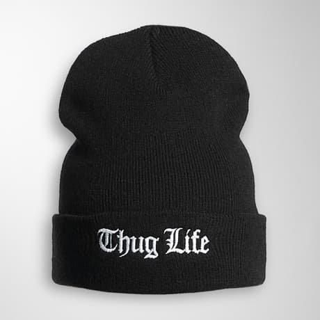 Thug Life Basic Pipo Musta