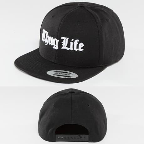 Thug Life Basic Snapback Lippis Musta