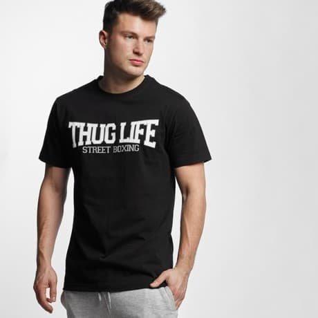 Thug Life Basic T-paita Musta