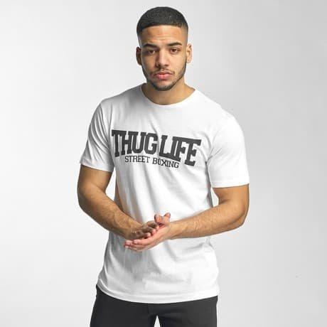Thug Life Basic T-paita Valkoinen