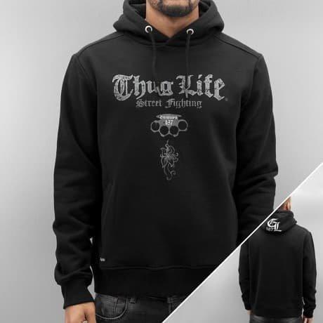 Thug Life Huppari Musta