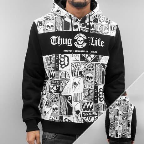 Thug Life Huppari Valkoinen
