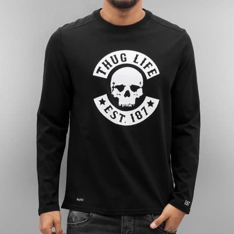 Thug Life Pitkähihainen Paita Musta