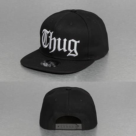 Thug Life Snapback Lippis Musta