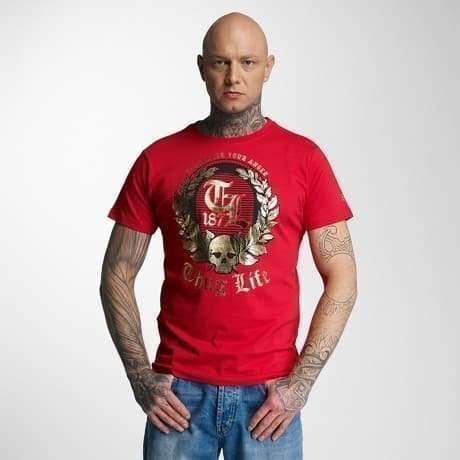 Thug Life T-paita Punainen