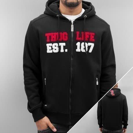 Thug Life Vetoketjuhuppari Musta
