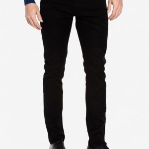 Tiger Of Sweden Jeans Pistolero Black Farkut Black