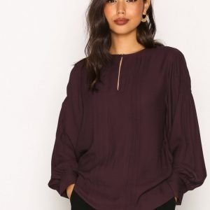 Tiger Of Sweden Misos Blouse Arkipaita Plum