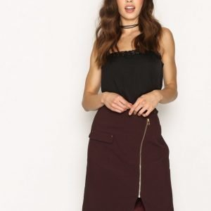 Tiger Of Sweden Randi Skirt Midihame Aubergine