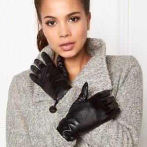 Tiger of Sweden Nioelo Leather Gloves 050 Black