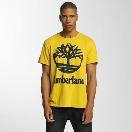 Timberland T-paita Keltainen