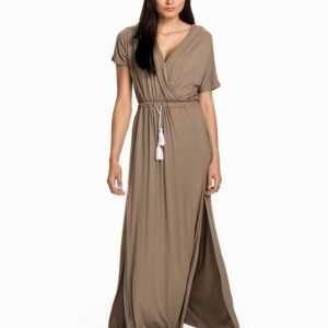Toby Heart Ginger Billow Cross Maxi Dress