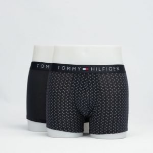 Tommy Hilfiger 2-pack Icon Trunk 003 Navy/Dots