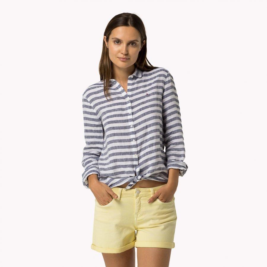 Tommy Hilfiger Astrud Shirt Regular Pellavapaitis