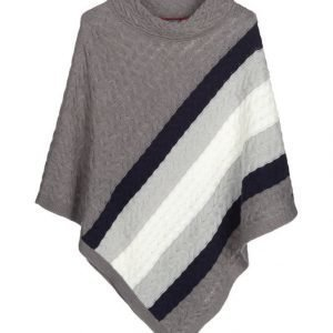 Tommy Hilfiger Betta Cable Cape Poncho