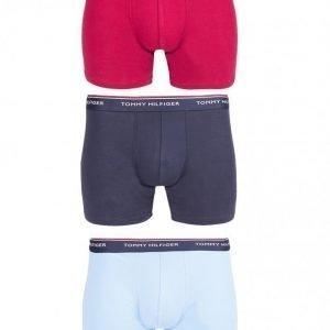 Tommy Hilfiger Boxer brief 3p premium Bokserit Sininen/punainen