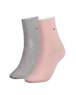 Tommy Hilfiger Casual Sock 2-pack Rose Combo