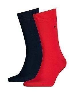 Tommy Hilfiger Classic Sock 2-pack Red/Navy