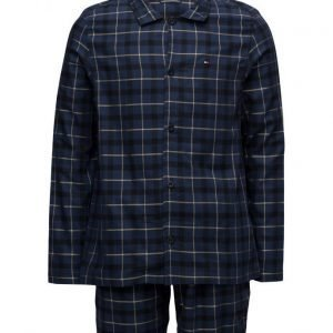 Tommy Hilfiger Corporate Check Woven Set Ls pyjama
