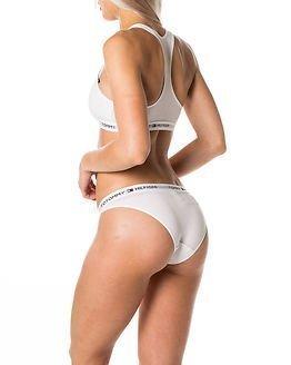 Tommy Hilfiger Cotton Bikini Iconic White