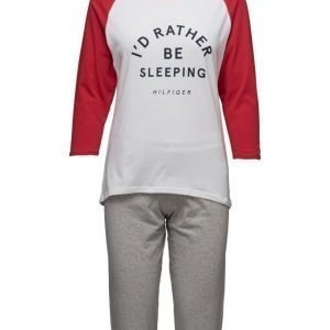 Tommy Hilfiger Cotton Iconic Set 3/4 Slv Print pyjama
