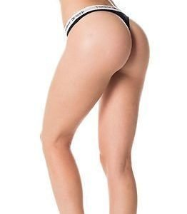 Tommy Hilfiger Cotton Thong Iconic Black