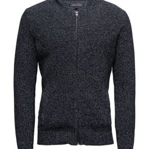Tommy Hilfiger Cotton Zip Through Cardigan neuletakki