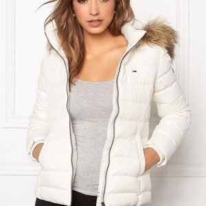 Tommy Hilfiger Denim Basic Down Jacket 003 Egret