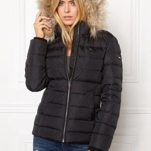 Tommy Hilfiger Denim Basic Down Jacket 078 Tommy Black
