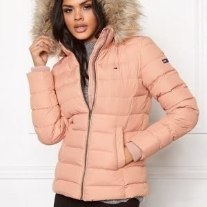 Tommy Hilfiger Denim Basic Down Jacket 648 Mahogany Rose
