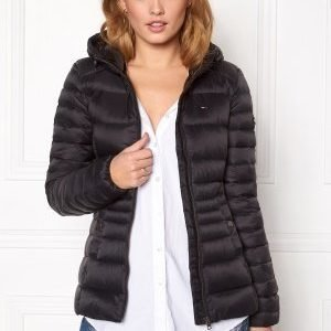 Tommy Hilfiger Denim Basic Puffa Jacket 078 Tommy Black