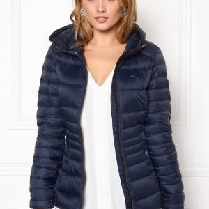 Tommy Hilfiger Denim Basic Puffa Jacket 416 Navy Blazer