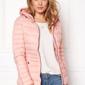 Tommy Hilfiger Denim Basic Puffa Jacket 655 Silver Pink