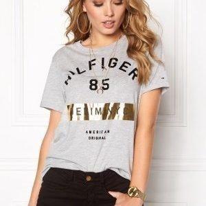 Tommy Hilfiger Denim Cn s/s T-shirt 038 Lt Grey htr