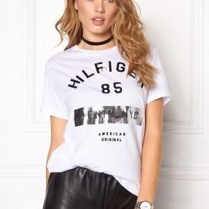 Tommy Hilfiger Denim Cn s/s T-shirt 100 Classic White
