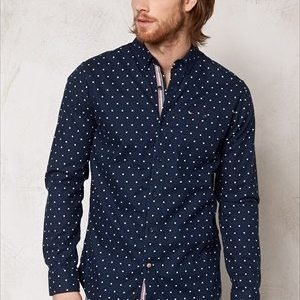 Tommy Hilfiger Denim Lailey Shirt l/s Navy Blazer