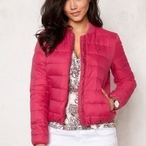 Tommy Hilfiger Denim Light Down Bomber 568 Sangria