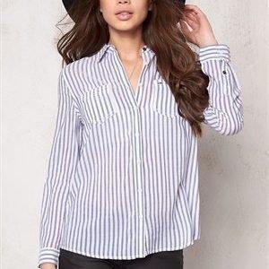 Tommy Hilfiger Denim Nea Shirt Stripe l/s Blue/white