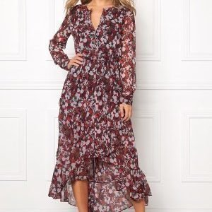 Tommy Hilfiger Denim Printed Maxi Dress 902 Rhubarb/Multi