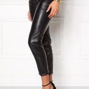 Tommy Hilfiger Denim Skinny Leather Pants 078 Tommy Black